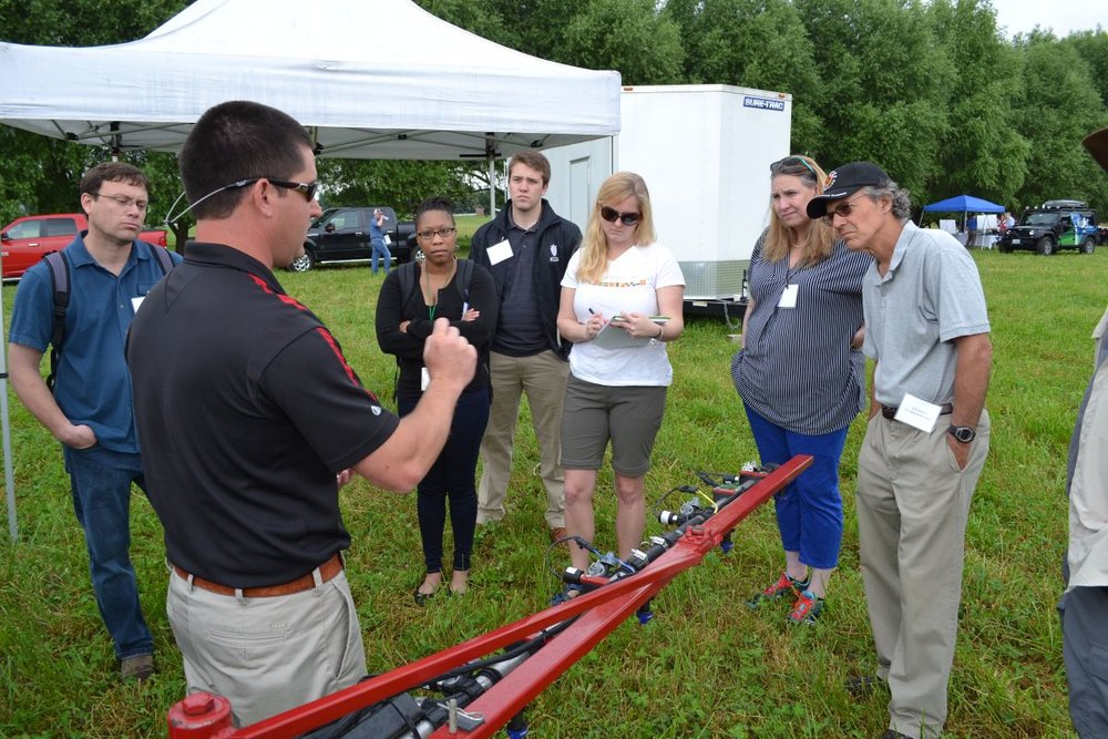 - More than 30 officials from the Environmental Protection Agency's Office of Pesticide Programs attended a Spray Drift Field Day hosted by the Association of Equipment Manufacturers and the Agricultural Retailers Association June 15, 2016.The event, held at the University of Maryland Wye Research and Education Center about an hour from Capitol Hill in Queenstown, Md., introduced regulators to various drift reduction and precision agriculture technologies from several manufacturers. The event was designed to show the EPA officials the full spectrum of capabilities of modern precision agricultural equipment. Read more...