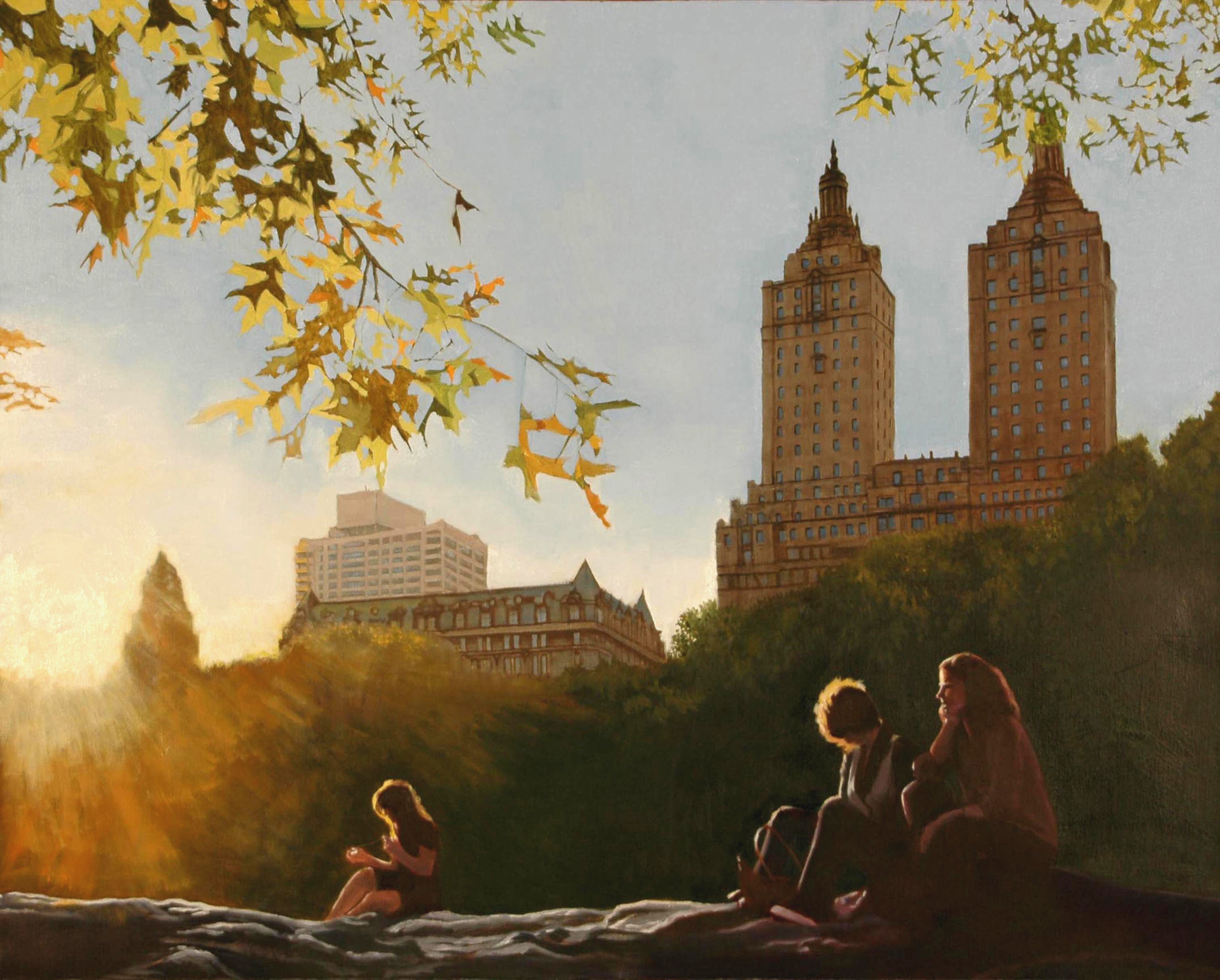 Friday Afternoon in Central Park