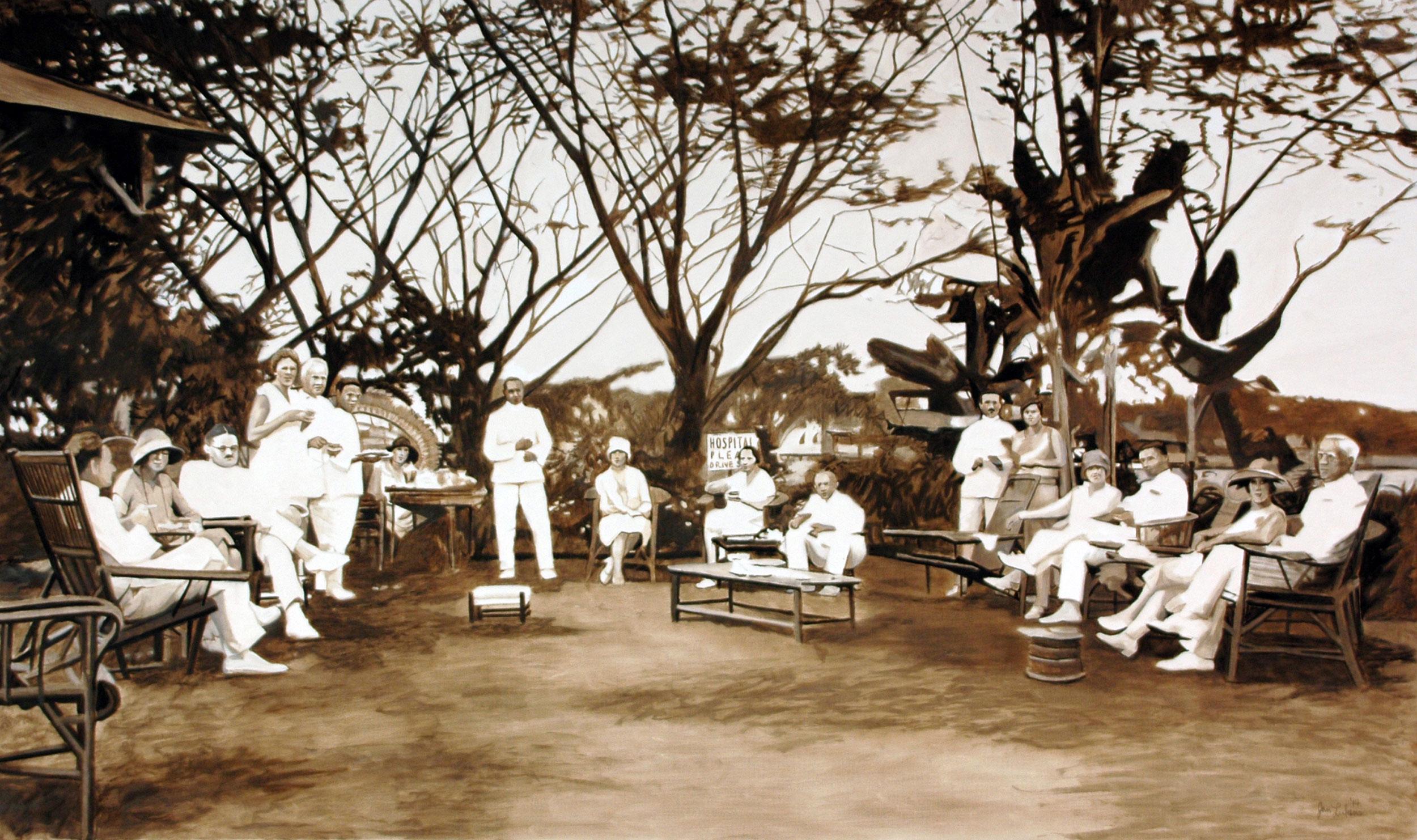High Tea in Pampanga 1928