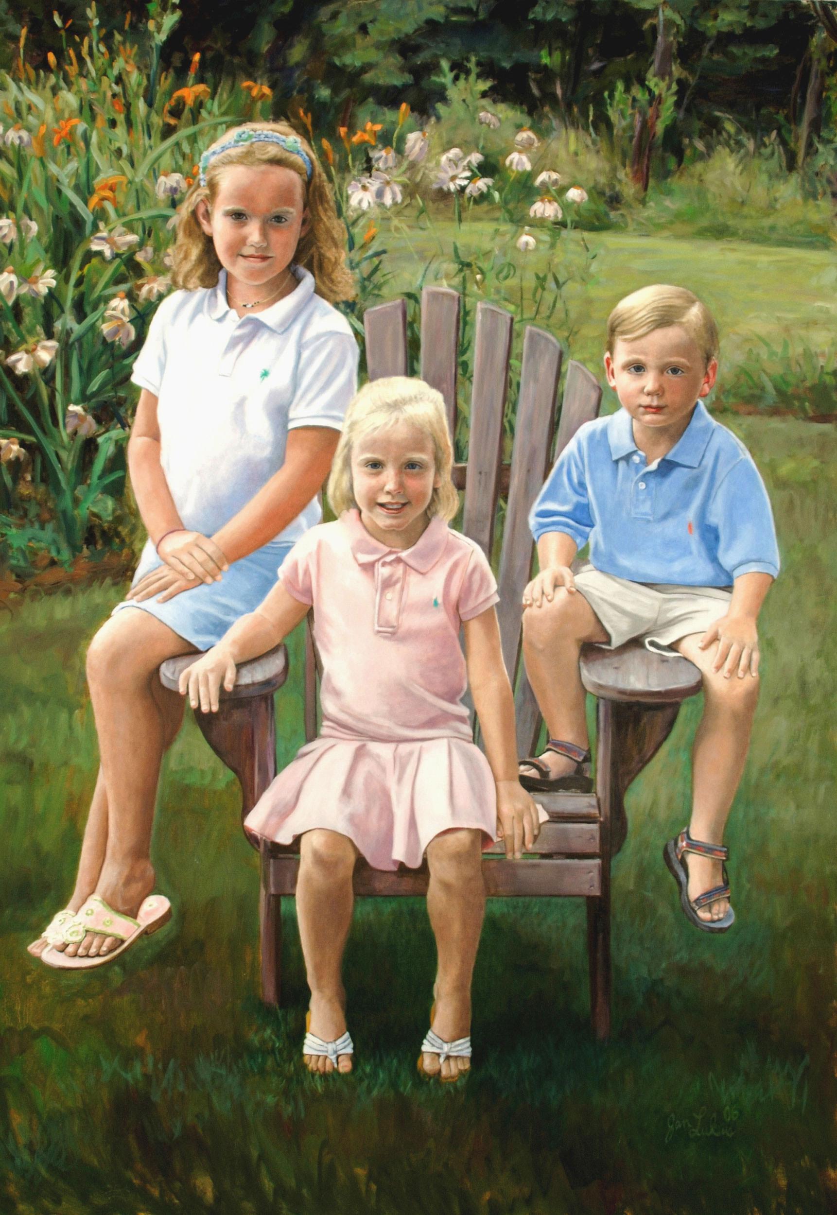 The Pebble Smith Children