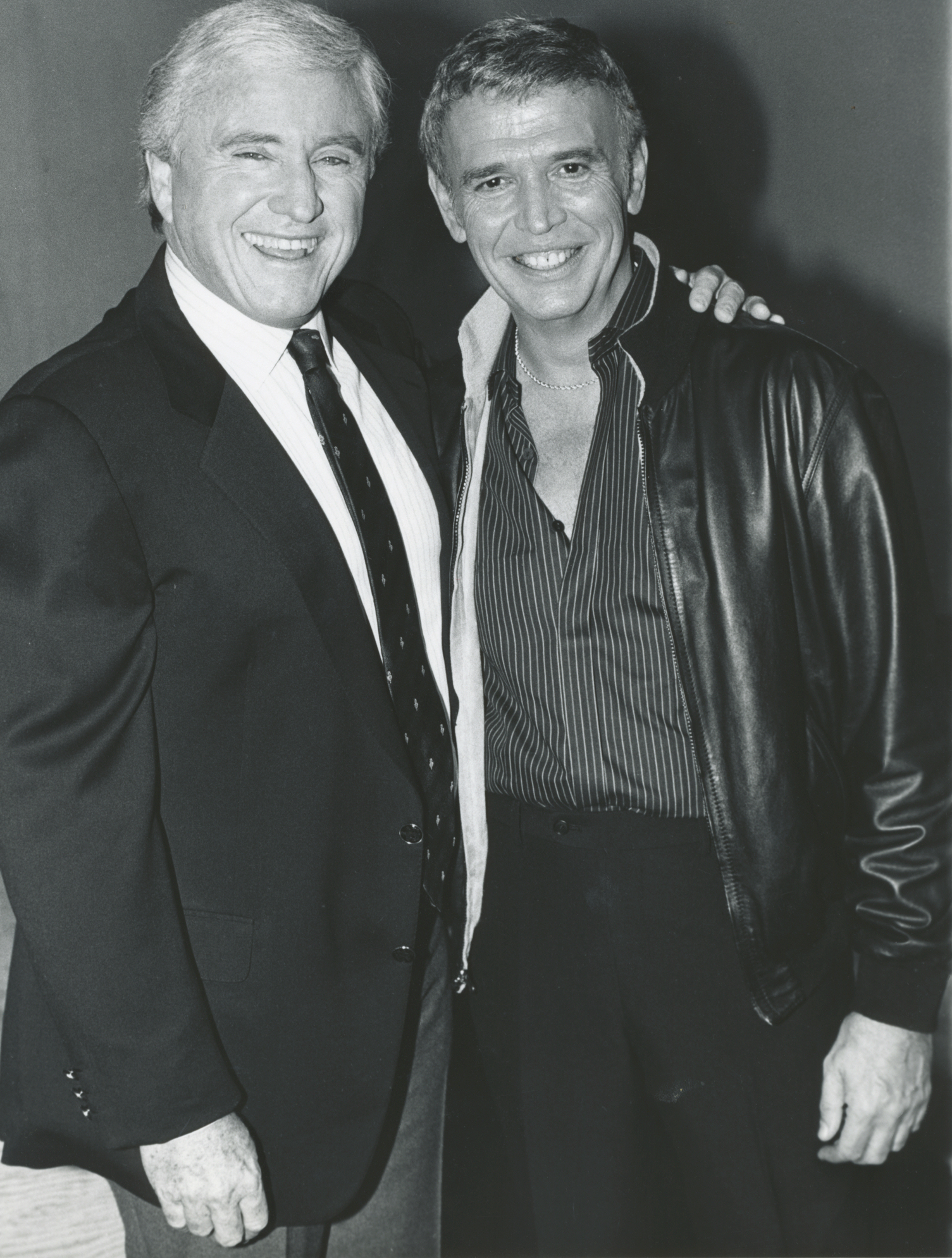 Merv Griffin with Roger