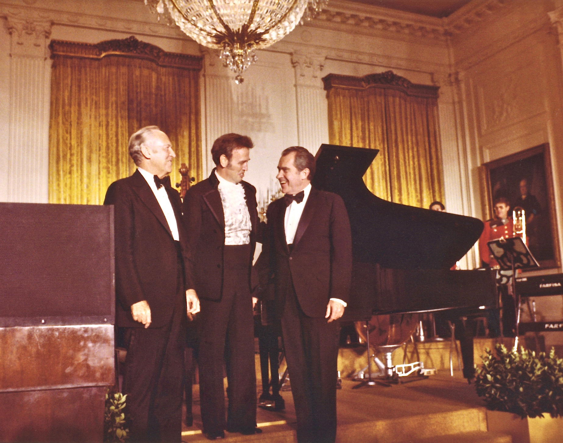 President Richard Nixon with Roger