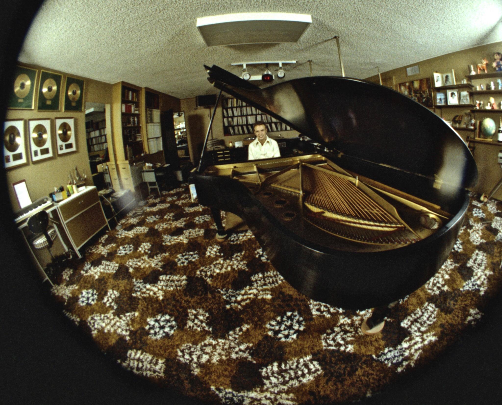 Roger's home practice studio