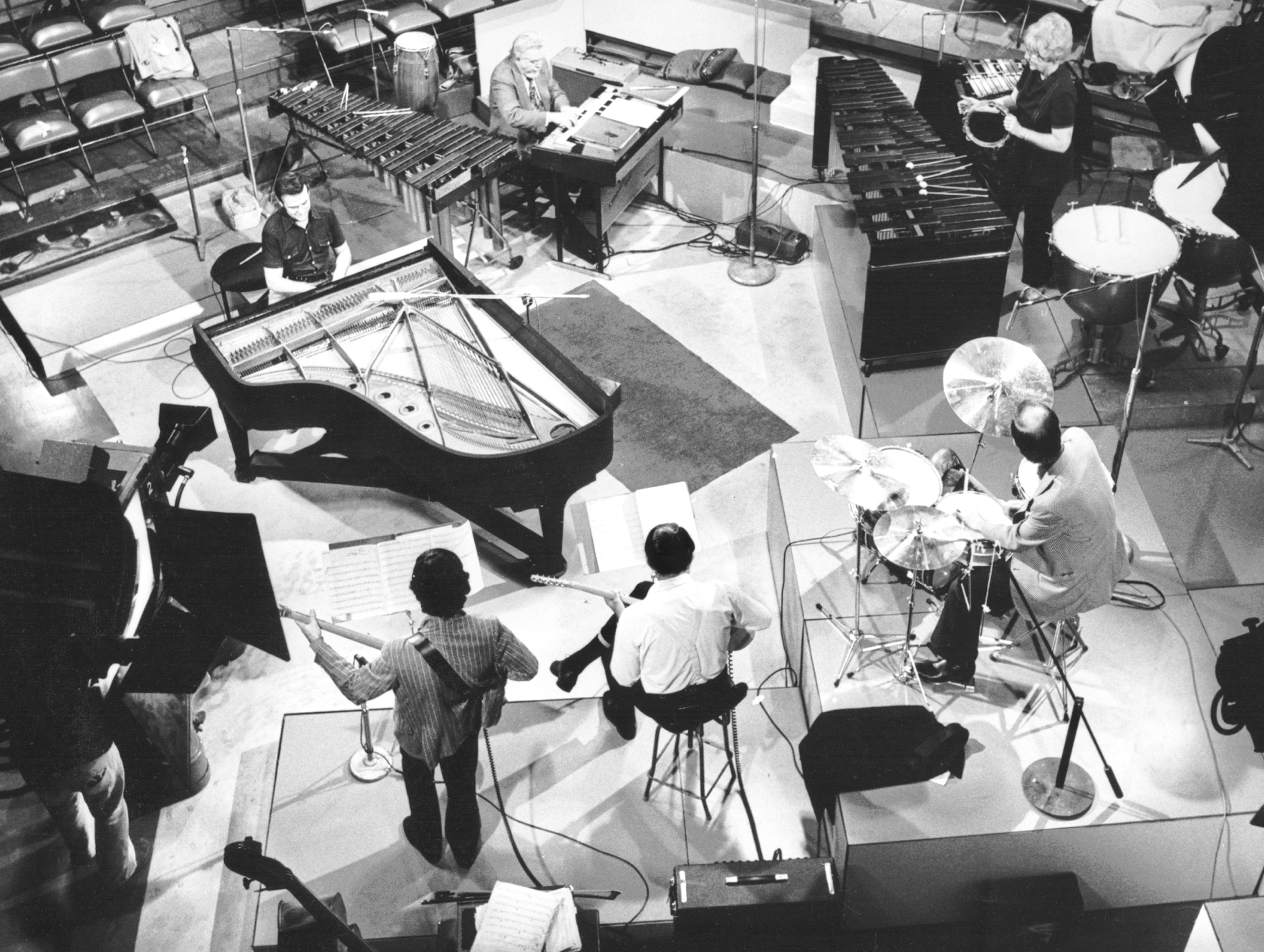 Roger's recording session