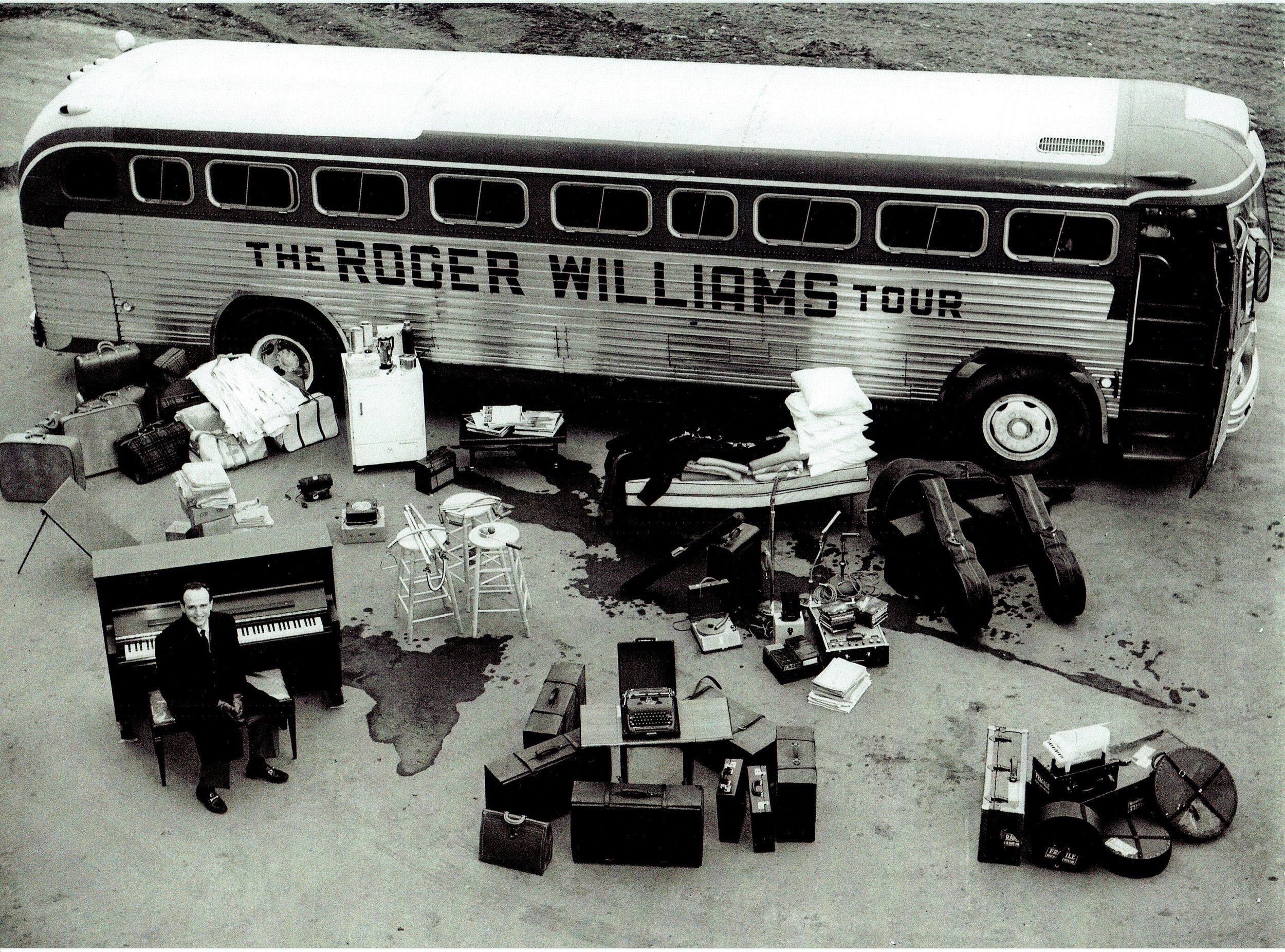 Roger's Tour Bus 1960's