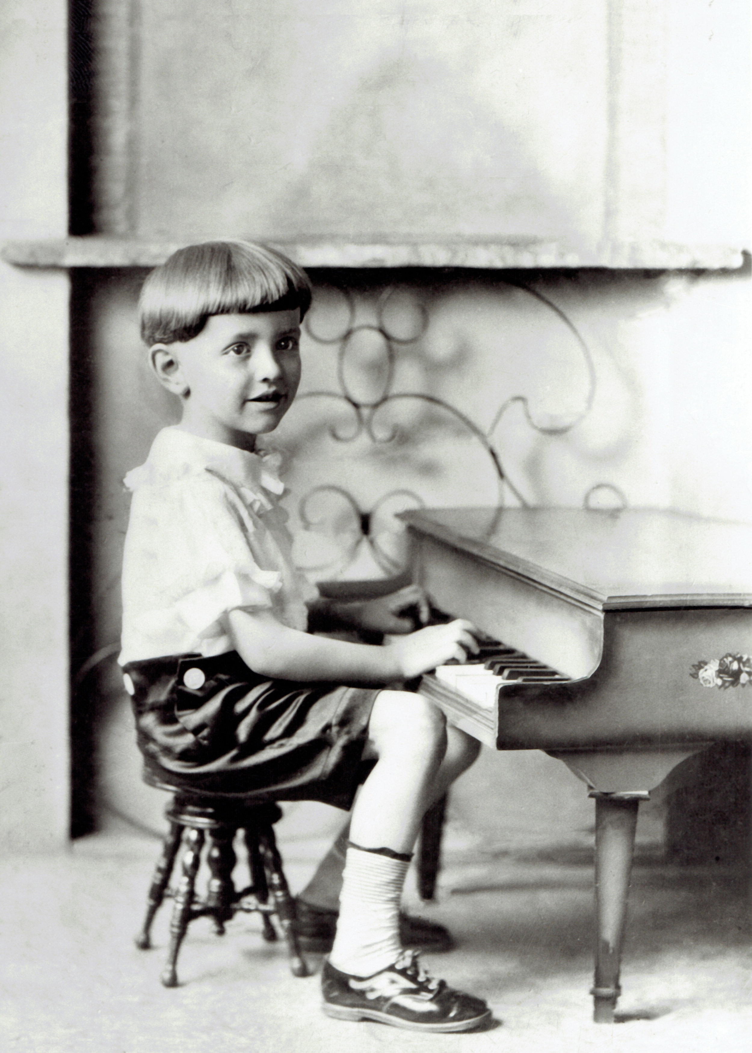 Roger at three years old.