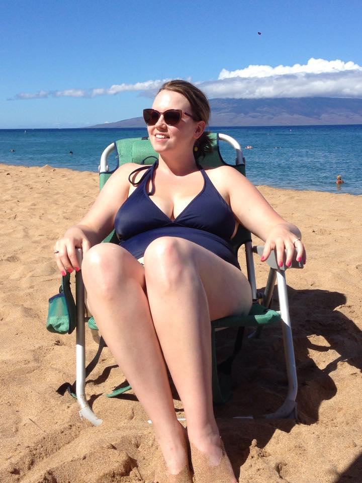 My 165 lb beach body in Hawaii in September 2014.