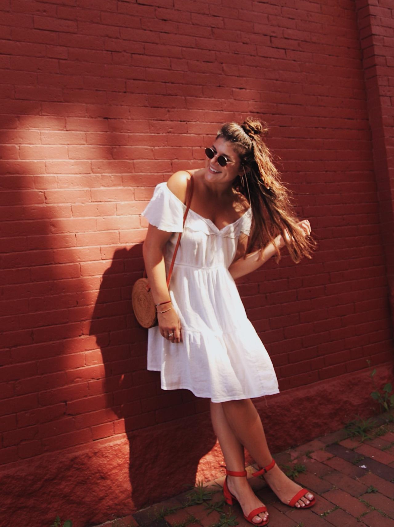 Nikki Hirst summer style