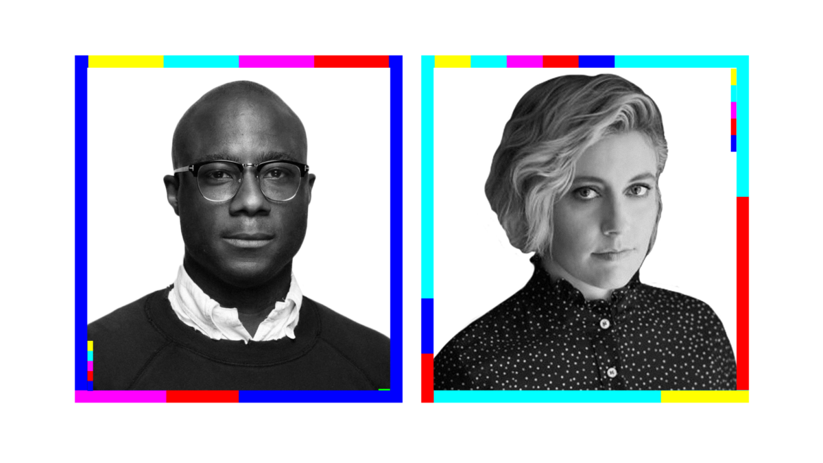 Barry Jenkins and Greta Gerwig on the first episode of the A24 Podcast