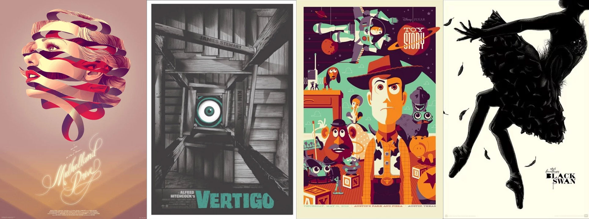 Some of my favorite Mondo posters, various artists