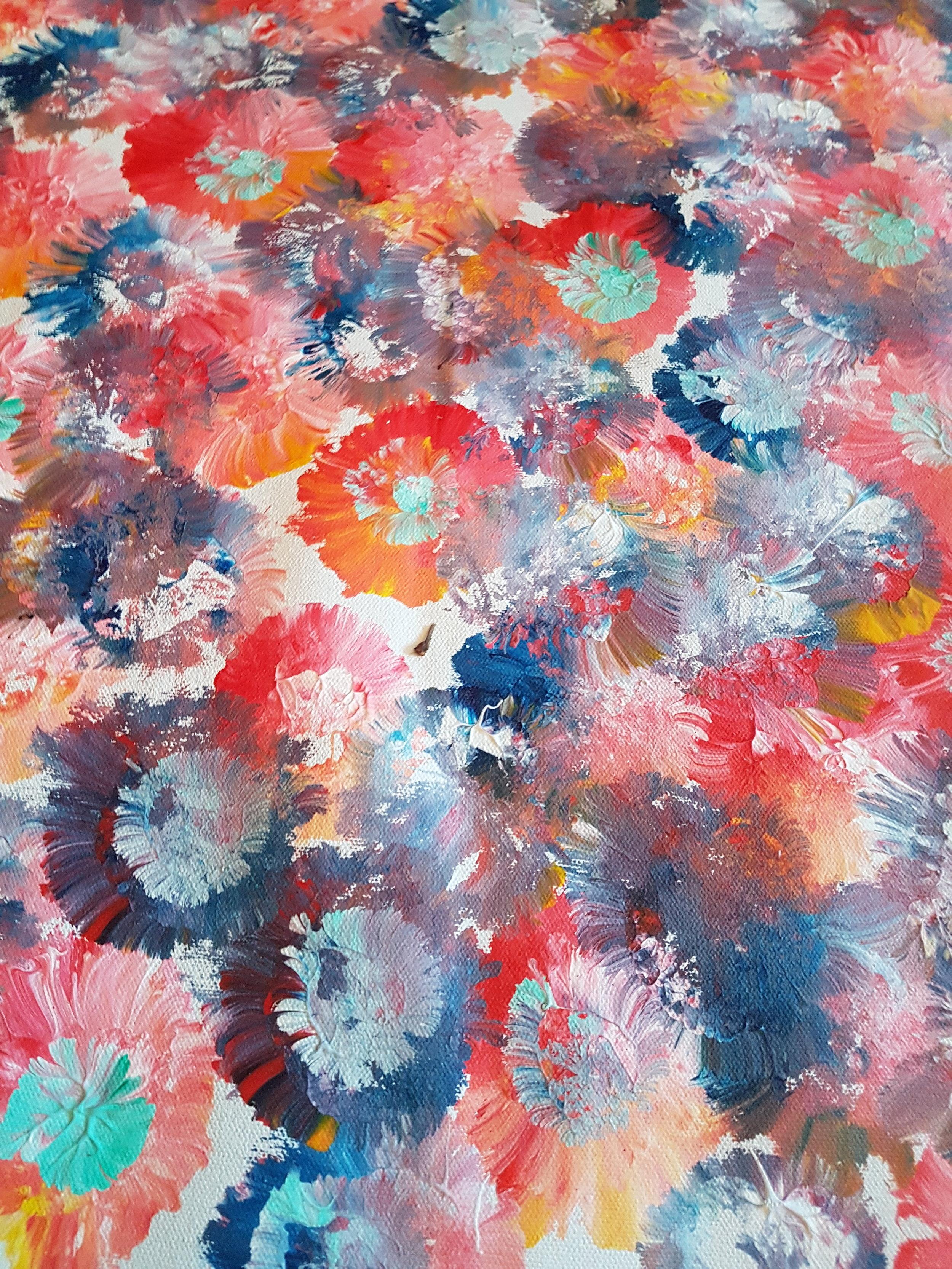 Burst of Flowers by Robert