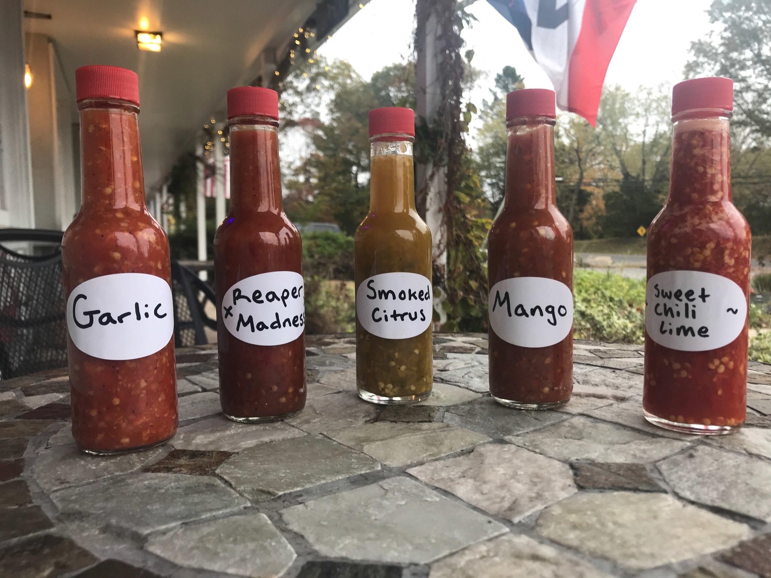 East Coast Taco Hot Sauces