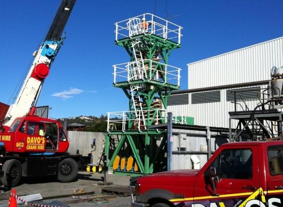 Capacity: 12t | Boom Length: 23.8m | Jib Length: 3.6 – 5.5m | Maximum tip height: 31m | Jib Offset: 5º, 25º, 45º(fixed) | Crane Width: 2.00m |Crane Length: 7.5m | Weight: 13,000kgs