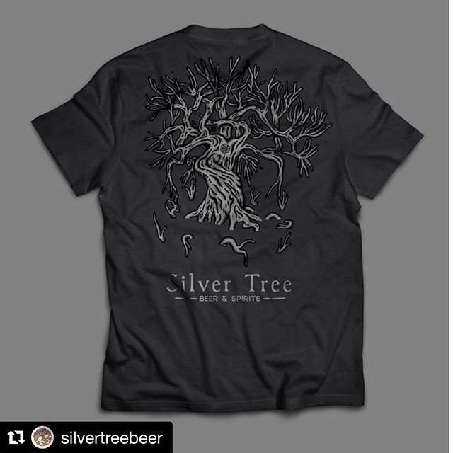 Silver Tree is having a pre-order for their annual fall shirt line. Send some love and get yourself one. Sale ends Oct 15th. Everything is going back to the company to help get our whiskey line started!  Link in bio