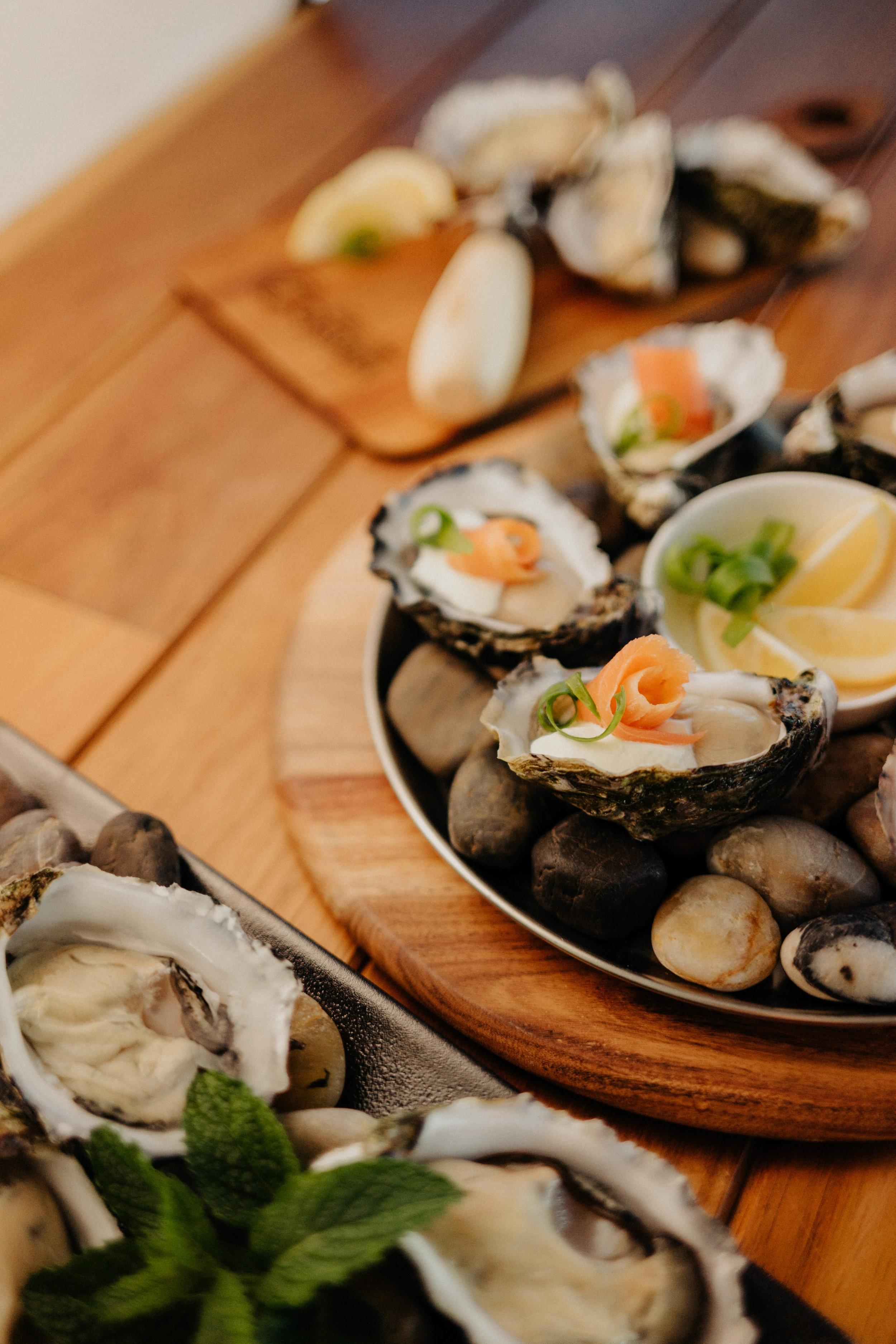 Crème Fraîche Oysters