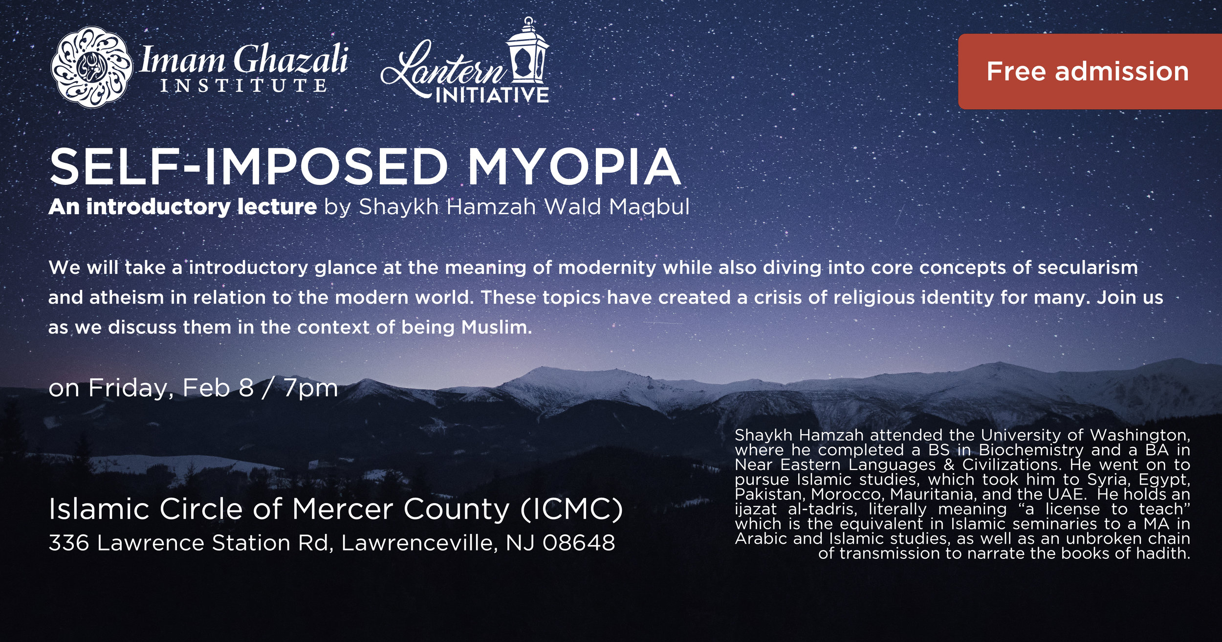 ICMC Islamic Circle Mercer New Jersey