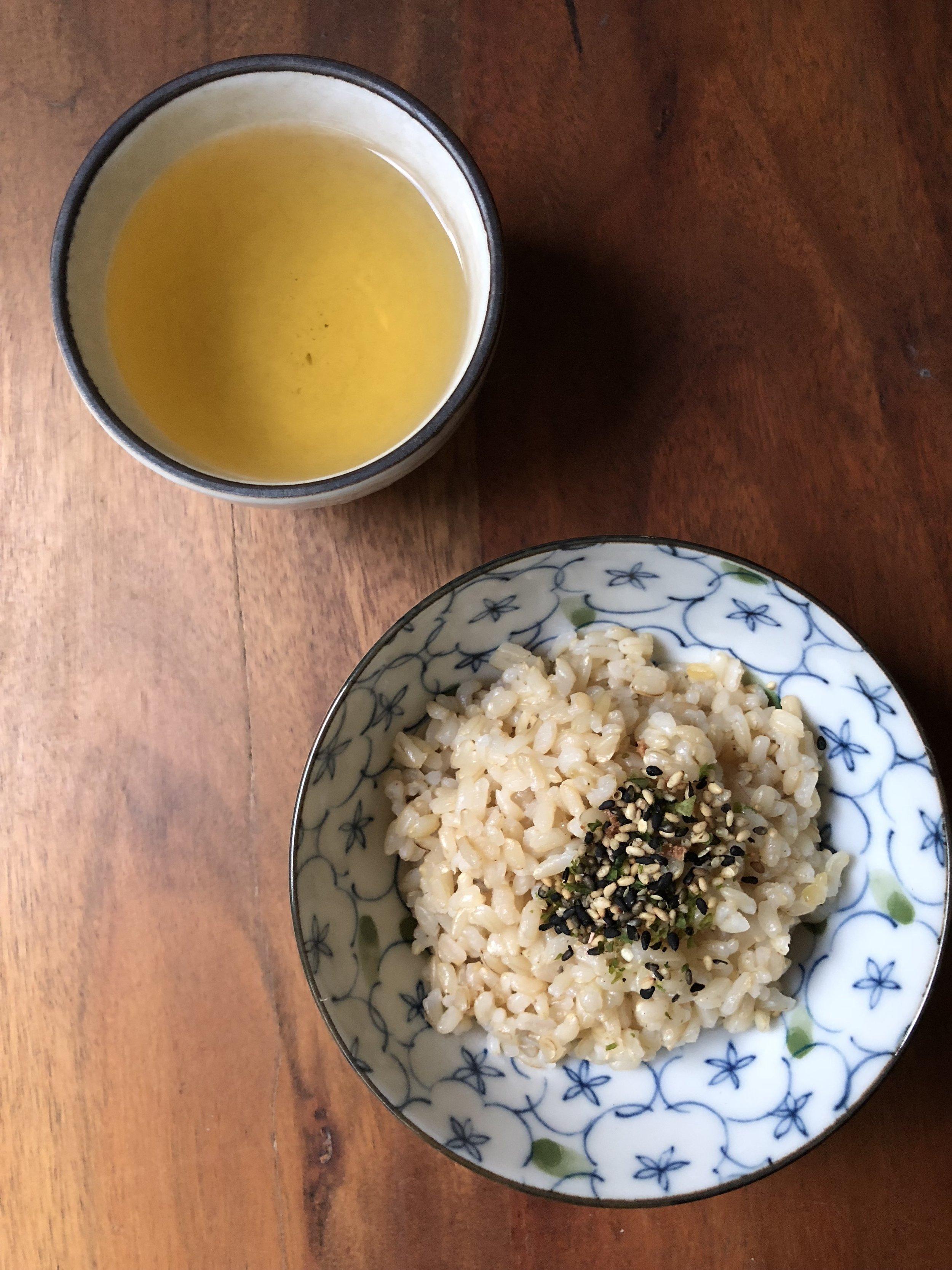 Tea & Hot Rice