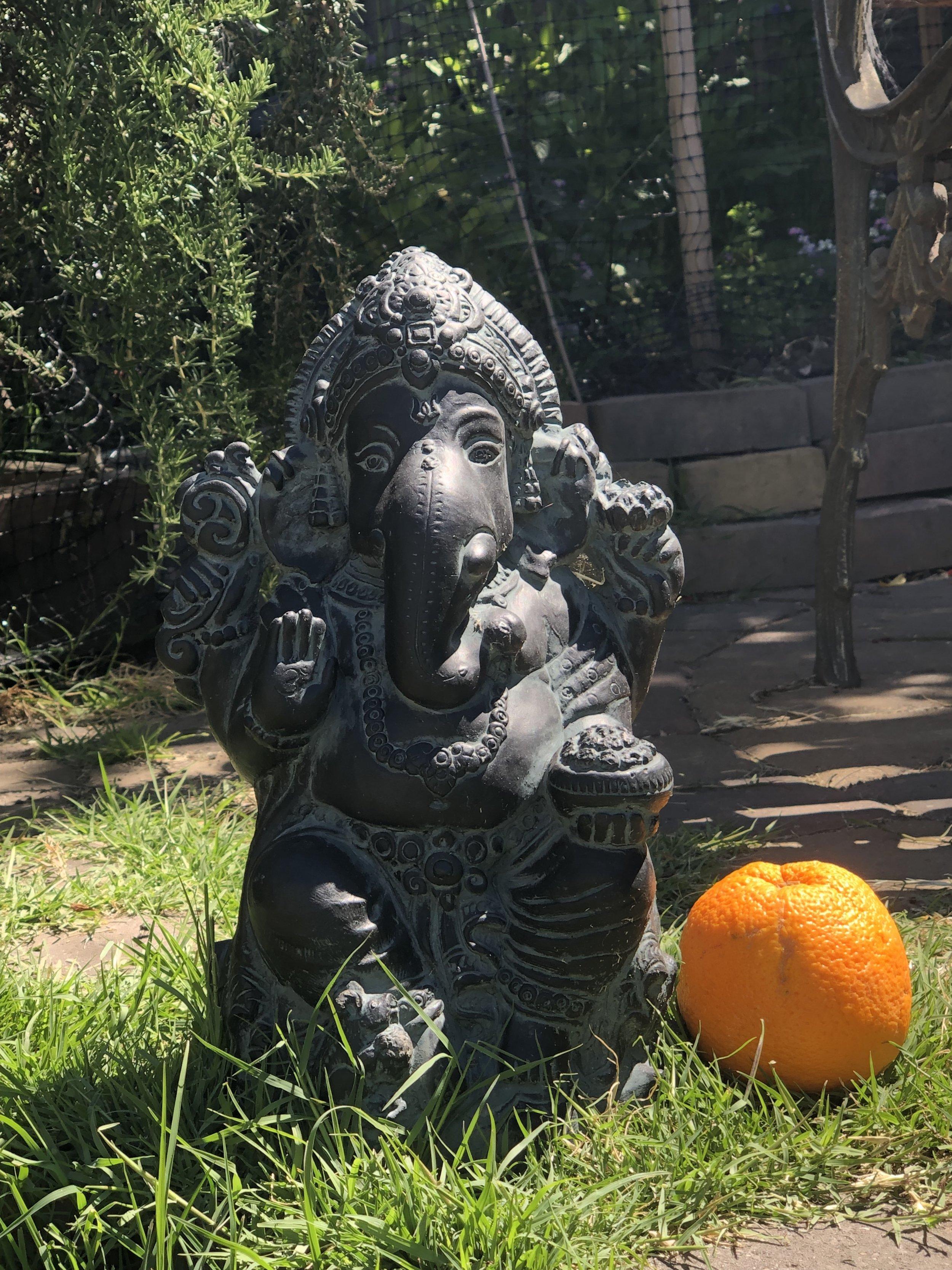 Our Garden Ganesha