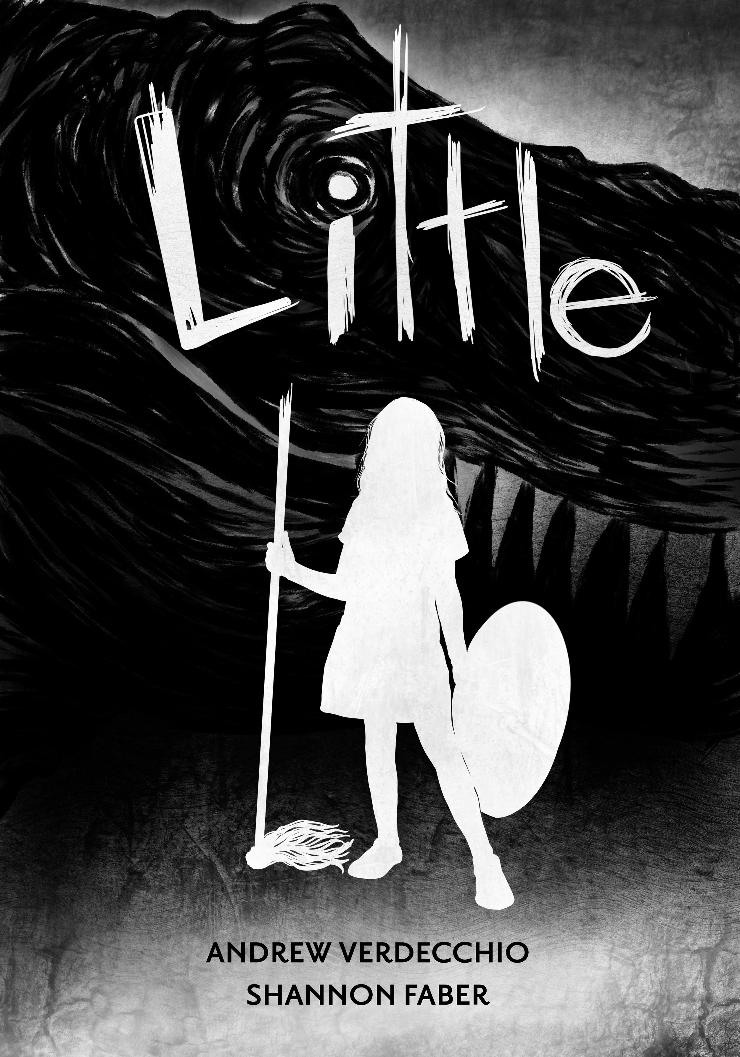 LITTLE - It's wise not to judge a book by its cover, as you and I are soon to discover.Little is a girl living life in her imagination when she is faced with her very own monster to defeat.Written in whimsical rhyme but rooted in a childhood nightmare, Little is a Grimmian story about facing and conquering the darkest of fears.Recommended for ages 8+Paperback, 32 pages©2018 INK & TEA