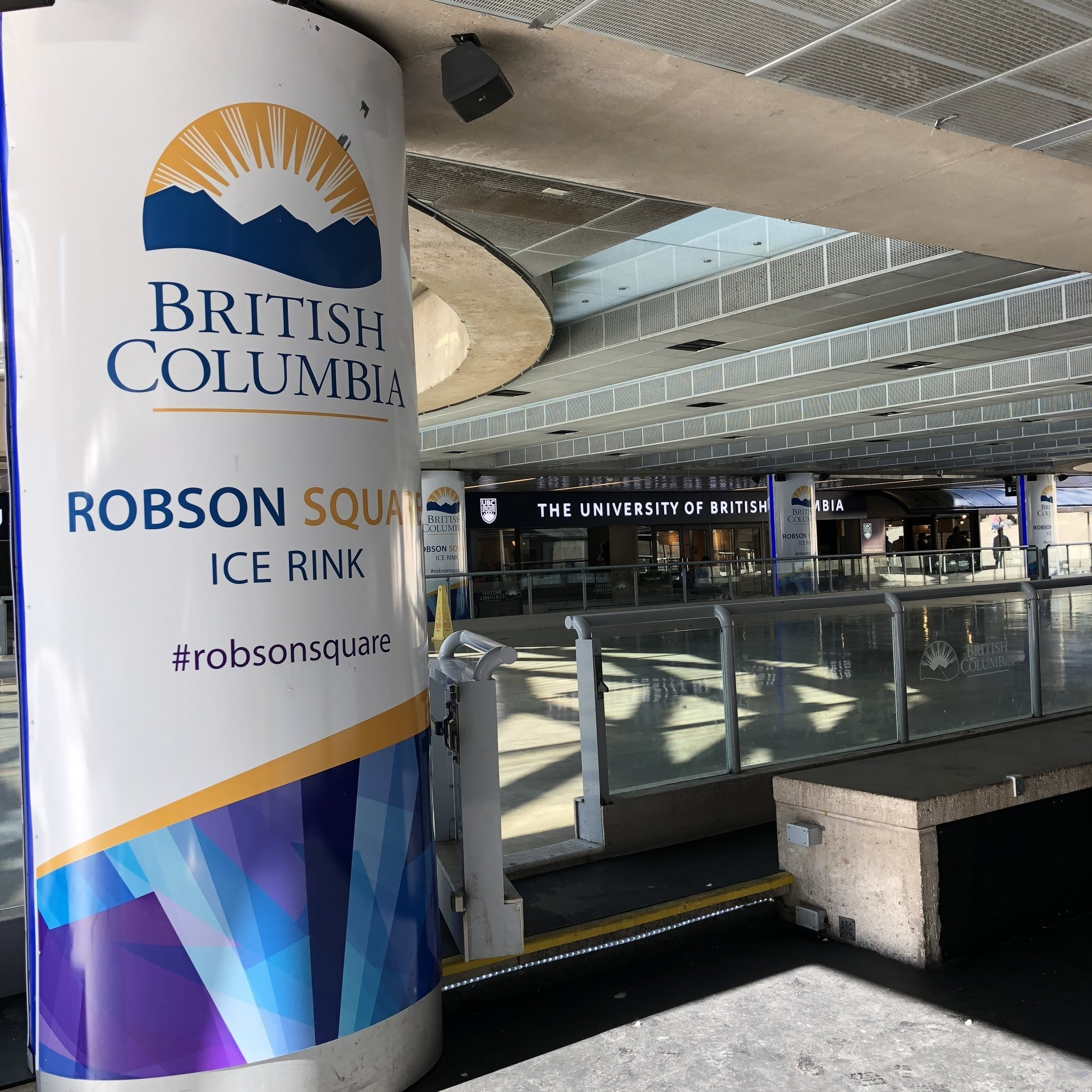 Listening Location:  Robson Square Ice Rink  800 Robson Street