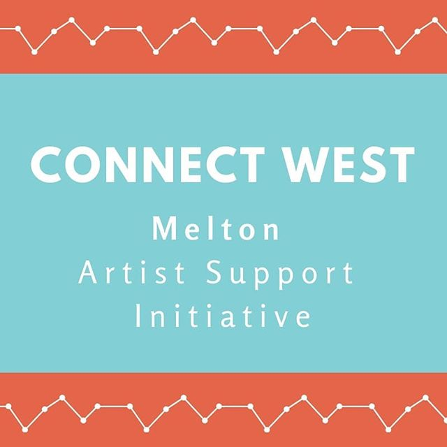 CONNECT WEST: Melton Artist Support Initiative.  EOIs CLOSE 11:59pm 31st of March 2019  Arts West and @cityofmeltonofficial are proud to announce their new Artist Support Initiative for artists living and creating Art within the Melton area.  Melton City Council are offering professional artists within their municipality a limited number of FREE Arts West Creative Memberships for 2019 as part of its ongoing commitment to nurturing the growth and development of the local Arts community.  Check out the great benefits of becoming a member at www.artswest.com.au/become-a-member  Expressions Of Interest are now open. Check out www.artswest.com.au/news-media for more details.  ARTS WEST IS: @100storyb , @footscrayarts , cohealth Arts Generator, @snuffpuppets ,  @thesubstation , @westernedgeyoutharts  and @womenscircus