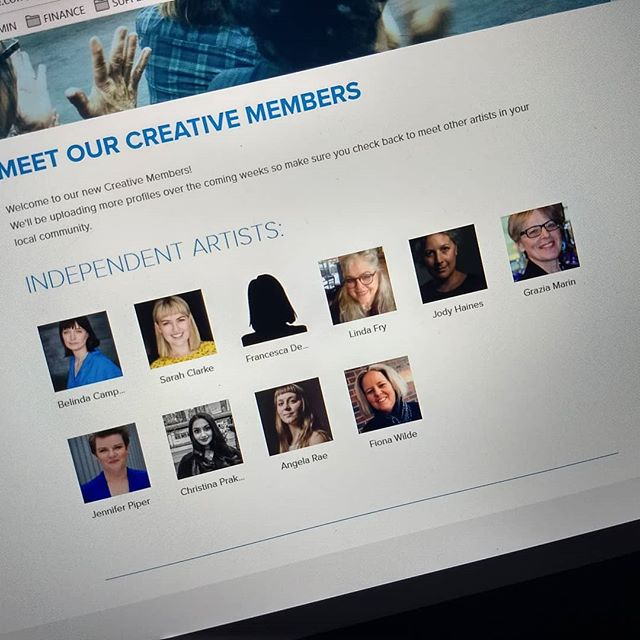 We've started uploading our new Creative Members gallery. Still loads more to upload but it's looking pretty good, don't you think?  https://www.artswest.com.au/become-a-member/  #ArtsWestMelb