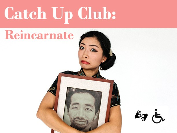 "Join us next week for a hilarious, Auslan interpreted, Catch Up Club (Artist's networking event) with Wit Incorporated's ""How I Met My Dead Husband"". What Did She Find gave it 4 STARS!!"