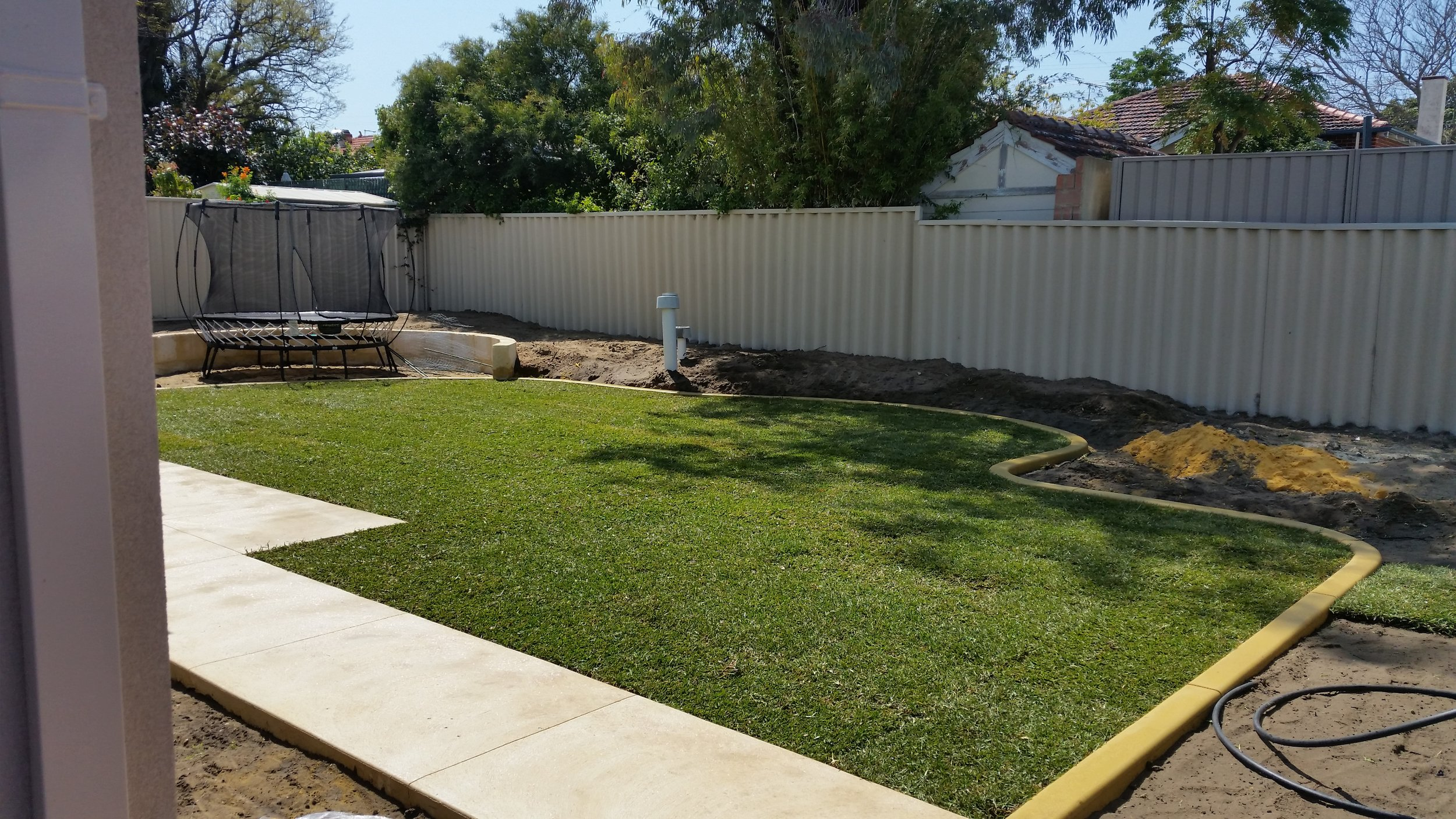Brabham Landscaping Job - After