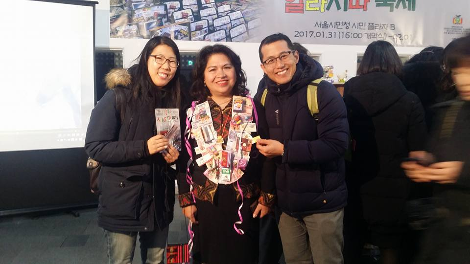 With Guadalupe Palomeque de Taboada, Bolivian Ambassador