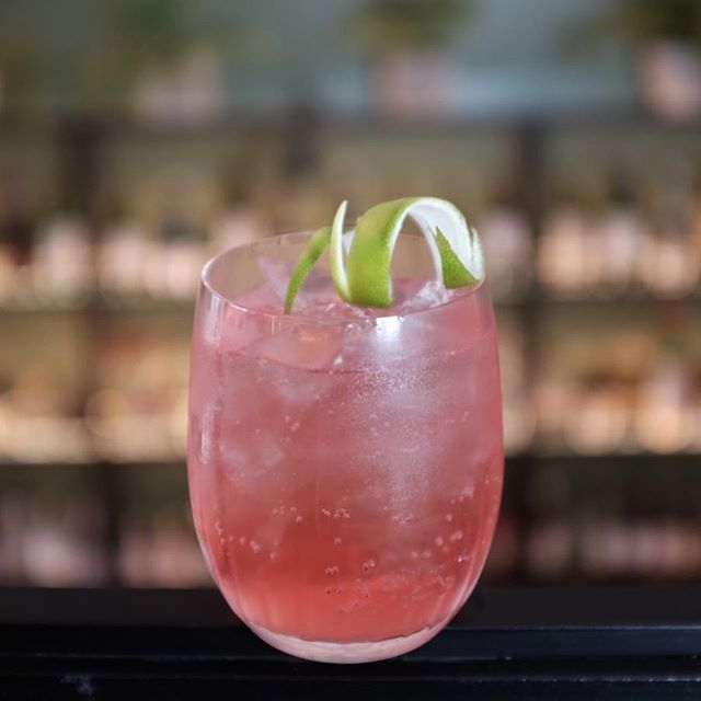 Rocking out the pink power for #londoncocktailweek 4-13 Oct. . Bitter Spritz - Ketel One Vodka, Campari, Homemade Lime Cordial, London Essence Pomelo & Pink Pepper Tonic  #cocktaillovers #cocktailbar #barlife #bartender #londoncocktailbars #ketelonevodka #campari #londonessence #lcw