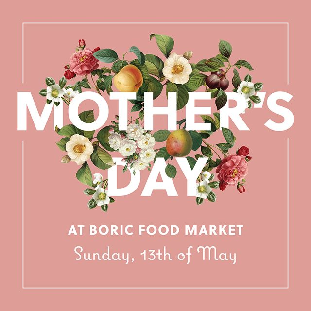 Thanks to all of those who joined us over the weekend to celebrate Mother's Day. 🌸 . . Congratulations to... Simone Cameron who has won our Mother's Day gift drawn from those who used our floral installation. Simone, please get in touch with marketing@boricfoodmarket.co.nz to claim your prize 👏🏻🎉