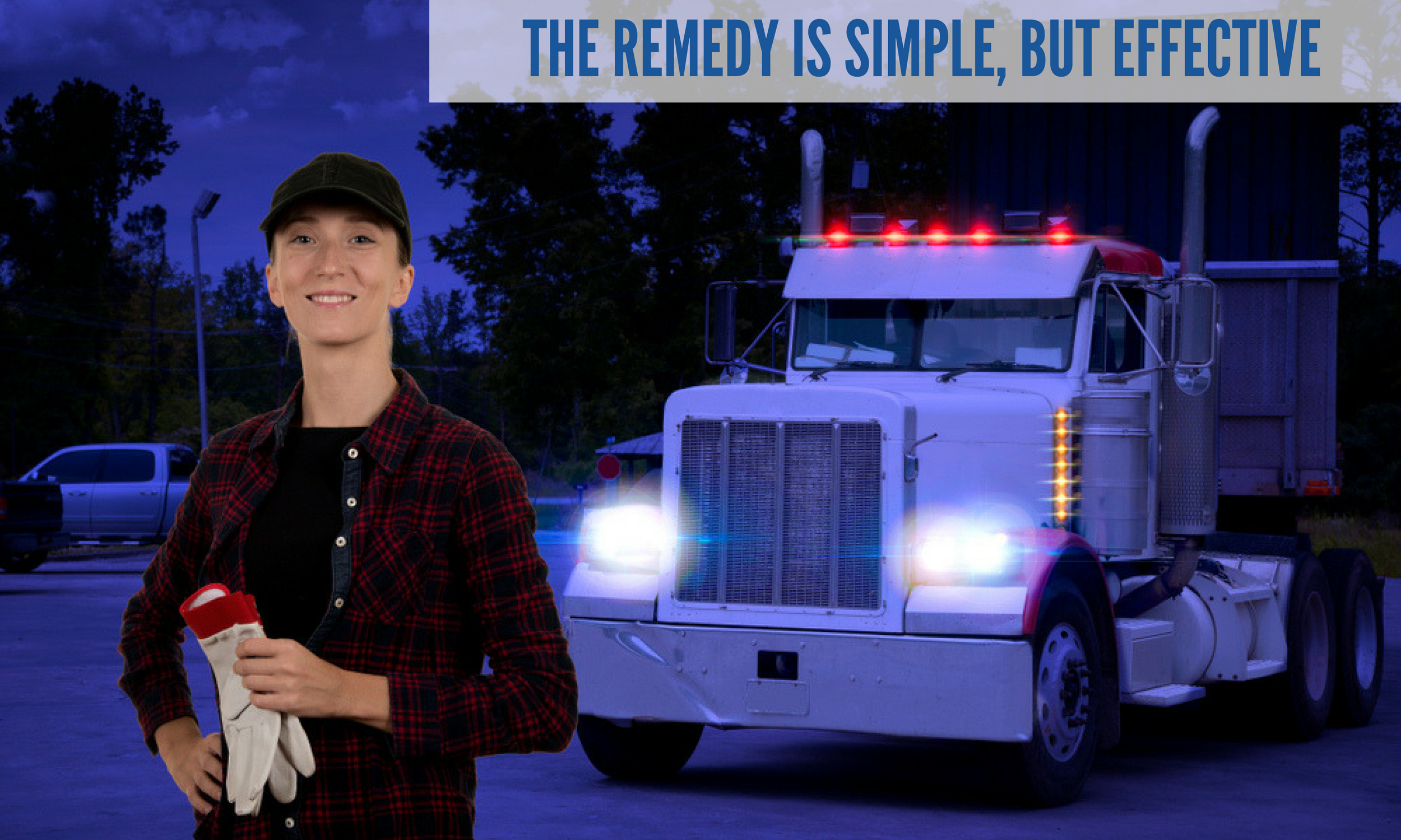 All professionals, including truck drivers need money. But that's not the only reason they show up to work everyday.