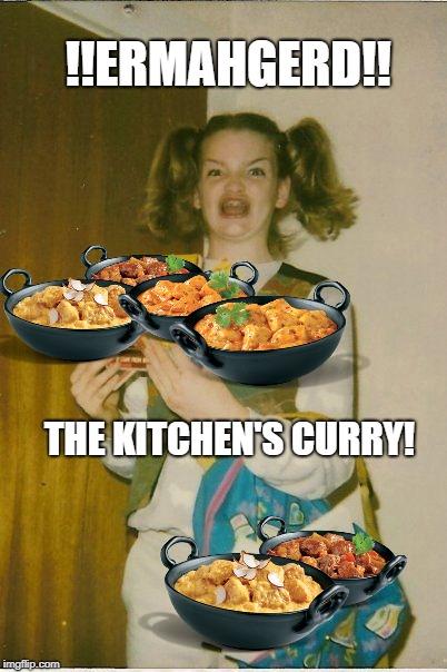 """""""theesh curriesh are shuper amayshing…."""""""