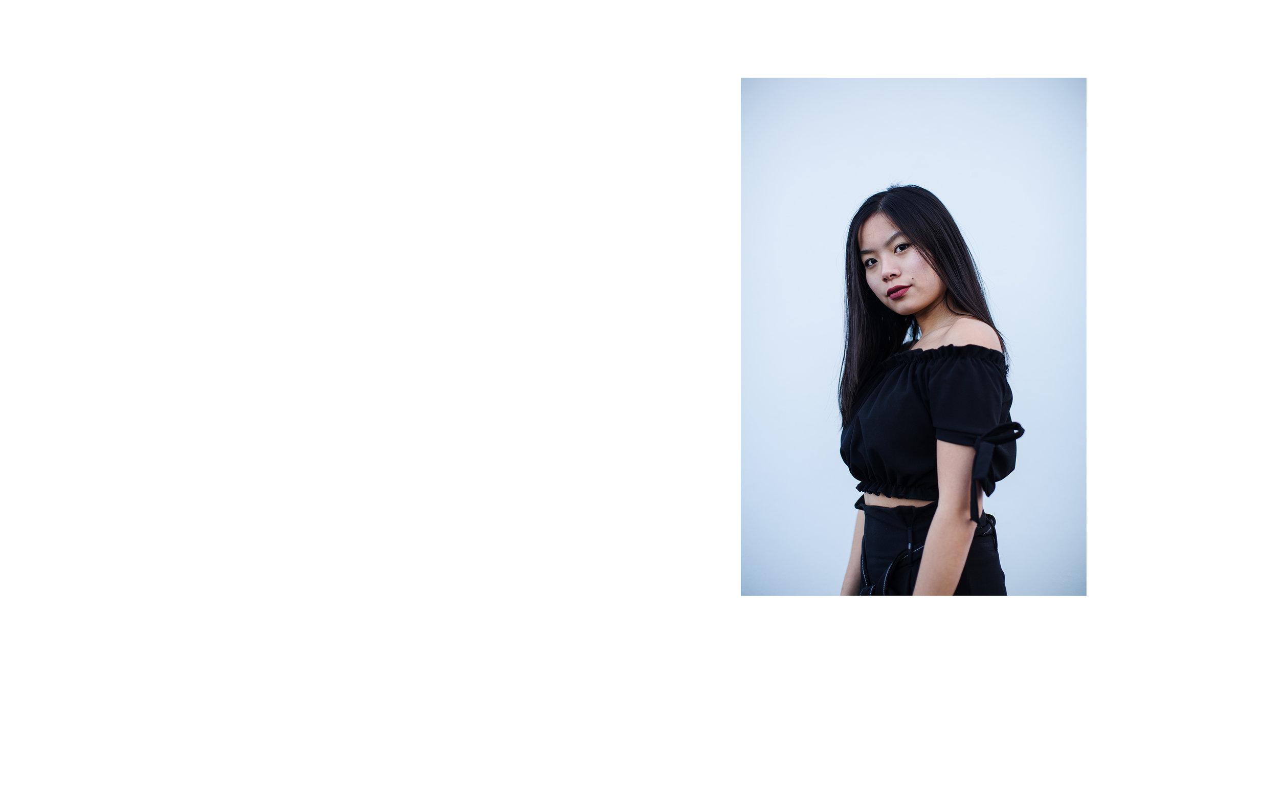 ALL BLACK modelled by Emily Tajima. (4/4)