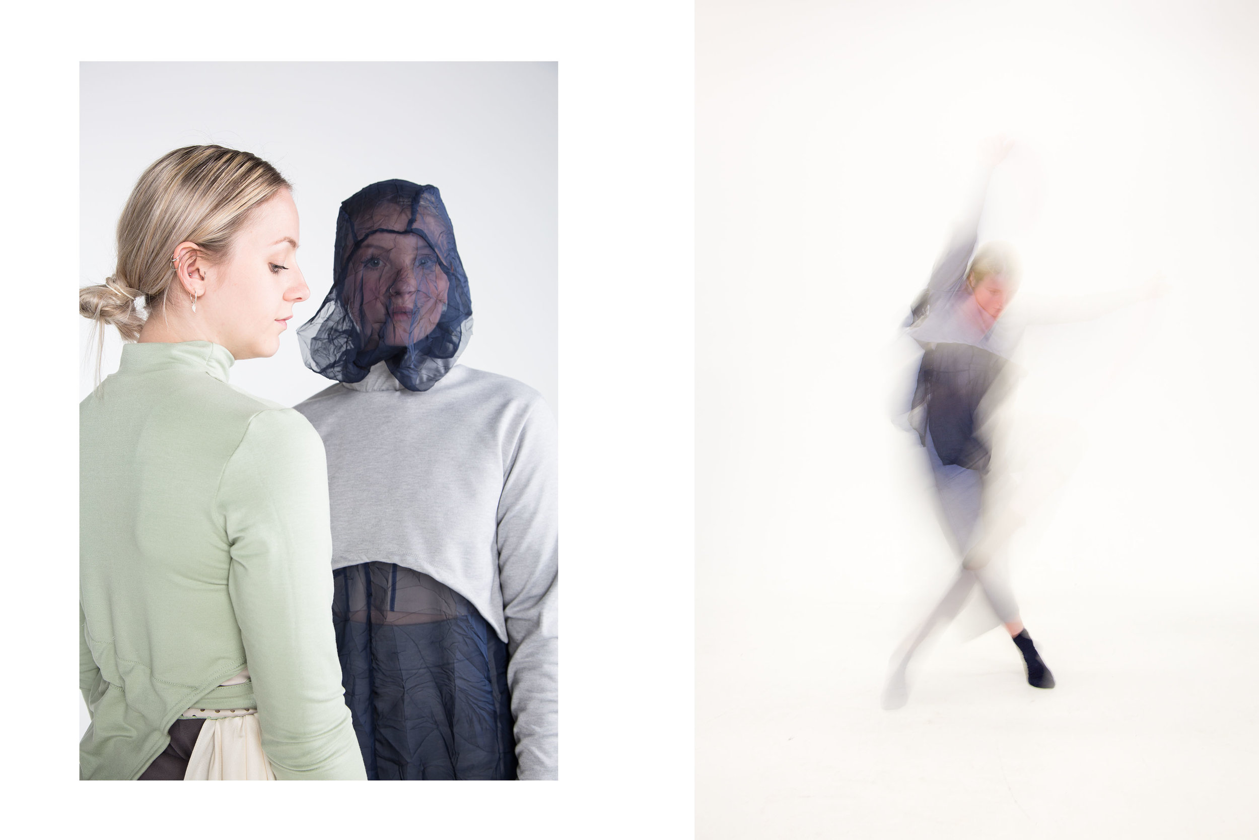 Catharsis// Collection Designs for Dance  by Isobel Crew. (6/10)  Outfits three,  Renewal , and four,  Sorrow .