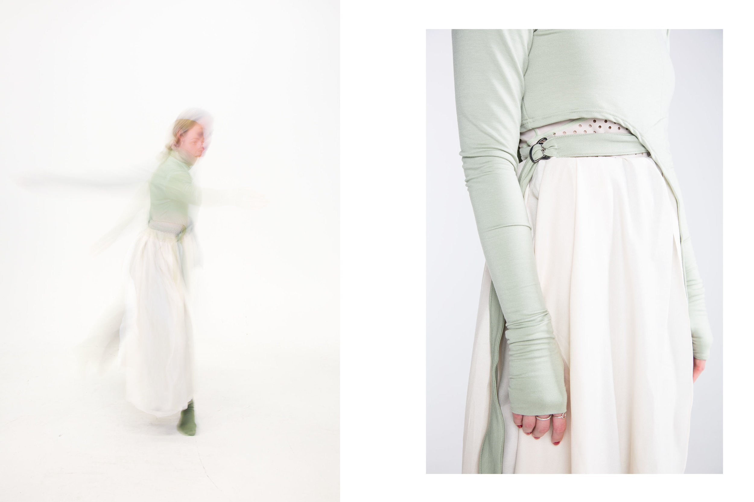 Catharsis// Collection Designs for Dance  by Isobel Crew. (7/10)  Outfit three;  Renewal