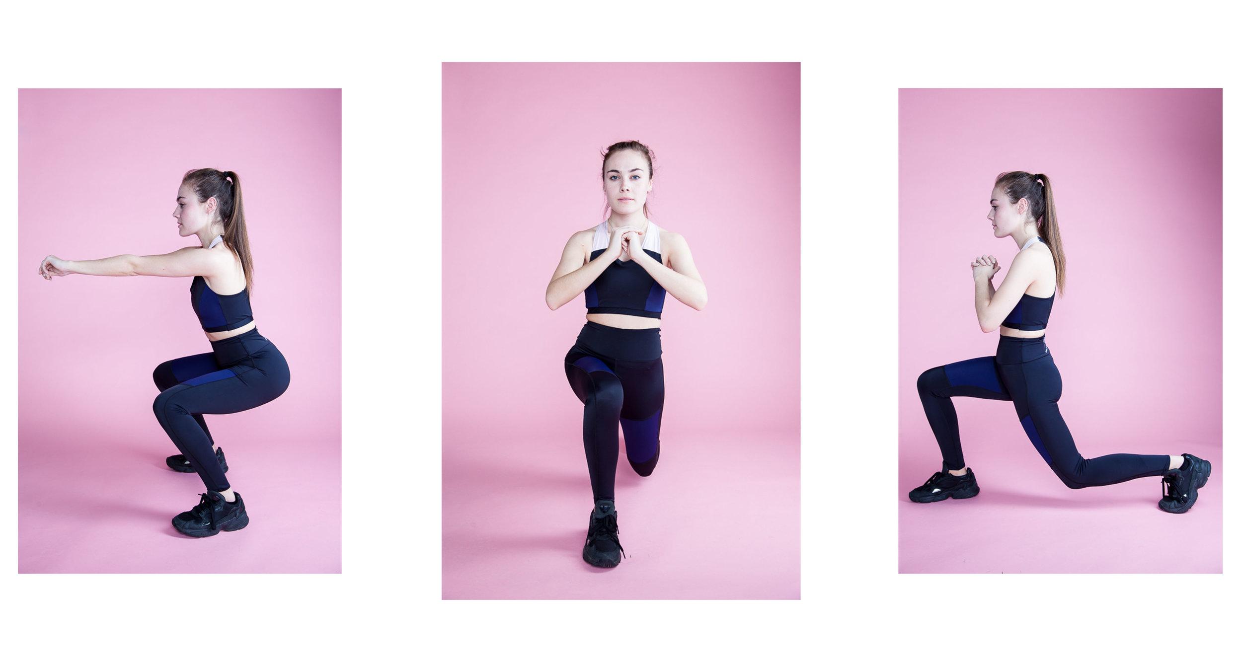 Isobel Dowling gym wear. (1/4)