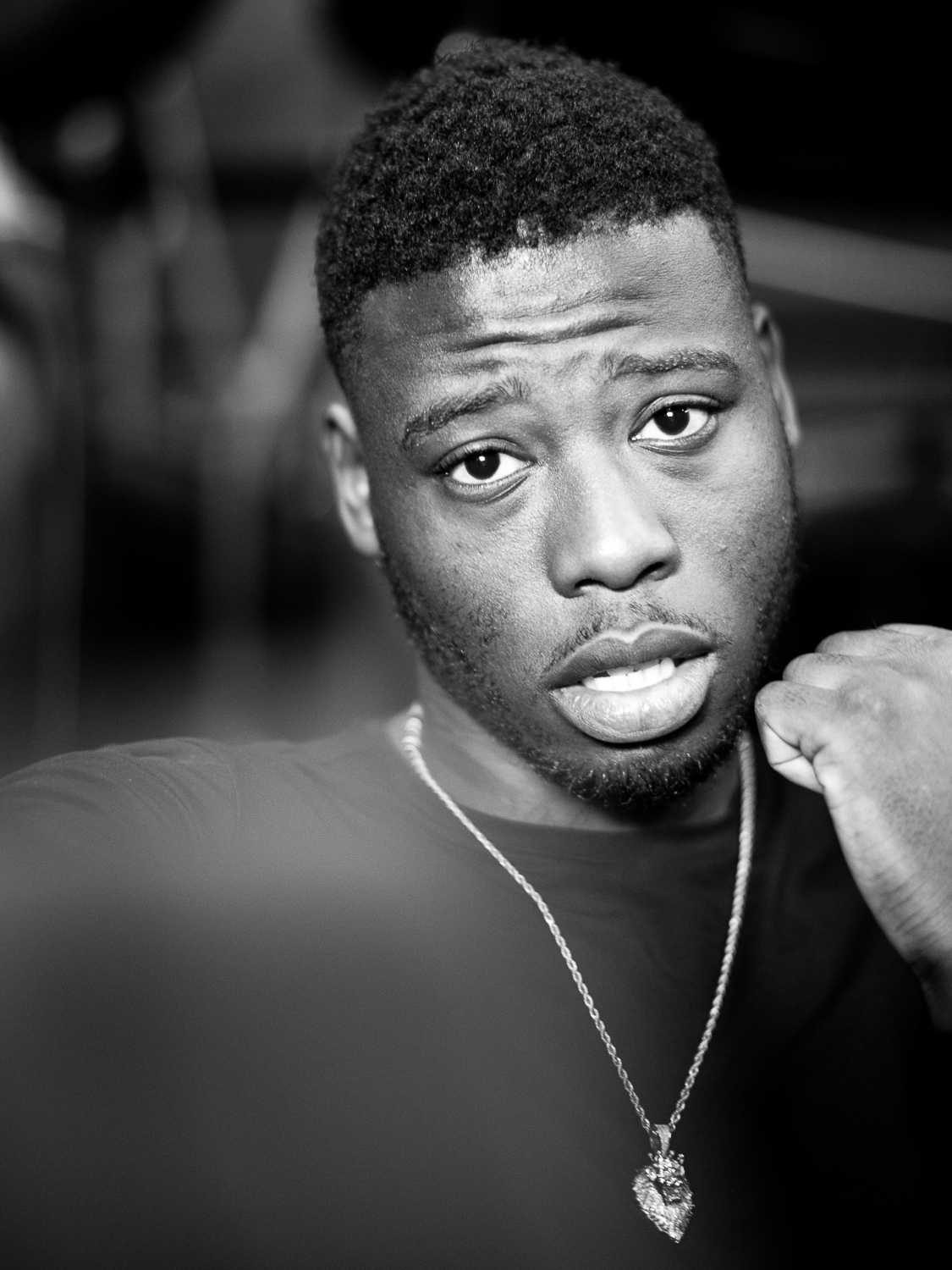 British cruiserweight boxing prospect, Isaac Chamberlain, shot for the Athlete Media Group.