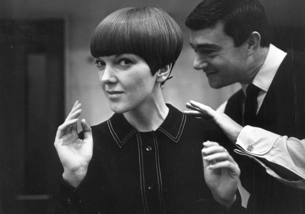 Mary's distinctive Vidal Sassoon wedge bob hairstyle  (Image: Getty Images)