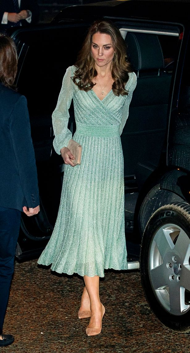 The Duchess of Cambridge wearing a Missoni midi dress on a two day visit to Northern Ireland(Image: PA)