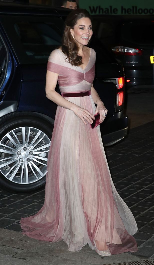 The Duchess drew praise for the Gucci gown she wore to a gala dinner at the Victoria and Albert Museum (Image: Getty Images)