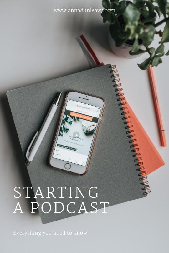 Starting a podcast #podcast #femaleentrepreneurs #businesspodcast
