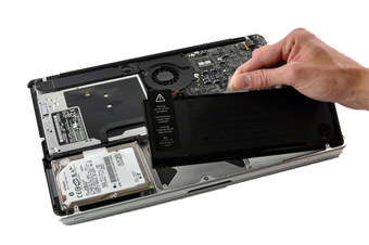 Apple MacBook battery replacement