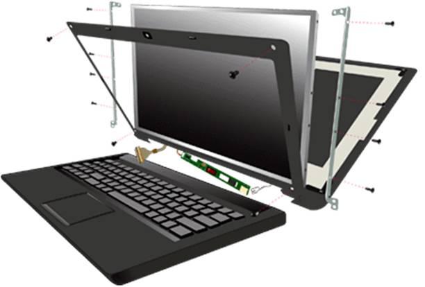 Laptop Screen replacement dublin
