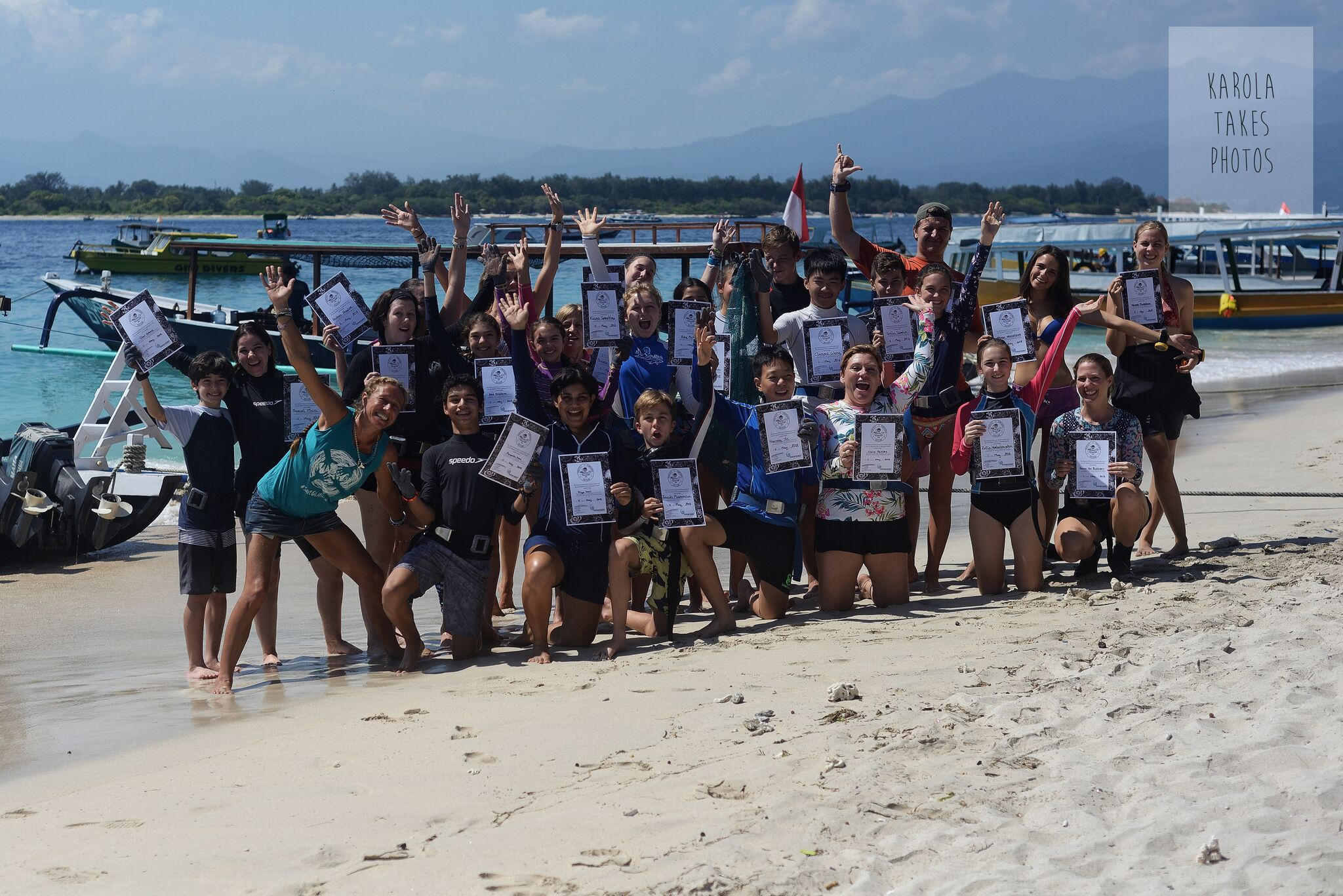Coral propagation course ocean quest and sea shepherd
