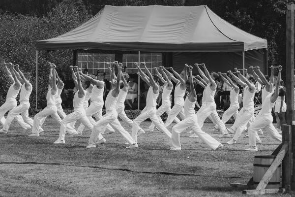 Balletic performance in Tori Estonia