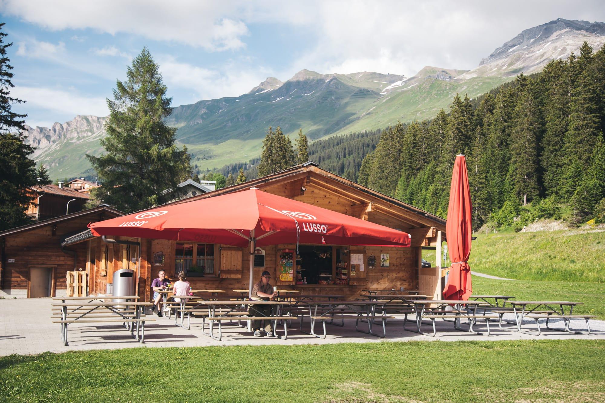 Kiosk Canols am Heidsee, Valbella GR