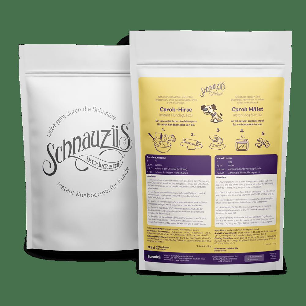 Schnauziis Hundeguatzli – Carob-Hirse