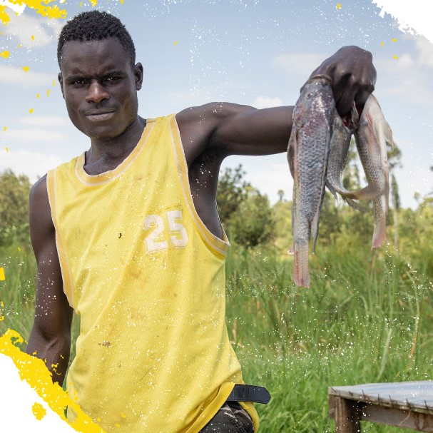 Fish farming - Farm Africa is supporting fish farmers, producers and traders to develop the aquaculture industry in Kenya, encouraging bigger incomes and better nutrition.Dive into the details of the project