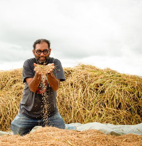 """Imagine a life without rice. I believe rice is life, and this is where life begins. It's incredible"" - Gaggan Anand"